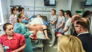 Университет Коперника: центр медицинских симуляций